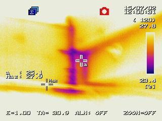 赤外線サーモグラフィー