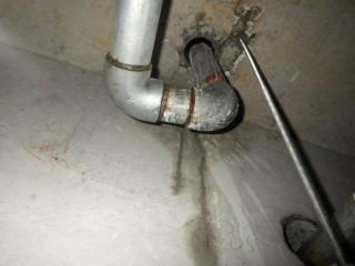 上階水漏れ