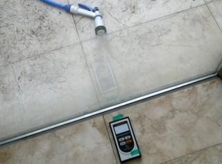 床からの漏水