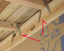 欠陥住宅を調査する建築士のブログ-軒先金物