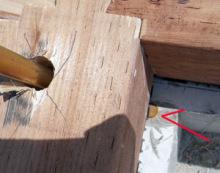 欠陥住宅を調査する建築士のブログ-ケミカルアンカー