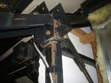 欠陥住宅を調査する建築士のブログ-鉄骨の錆