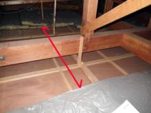 欠陥住宅を調査する建築士のブログ-天井断熱材