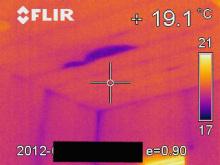欠陥住宅を調査する建築士のブログ-天井雨漏り