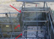 欠陥住宅を調査する建築士のブログ-鉄筋継ぎ手