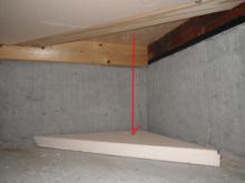 欠陥住宅を調査する建築士のブログ-床下断熱材