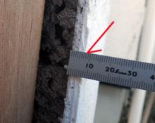 欠陥住宅を調査する建築士のブログ-壁厚さ
