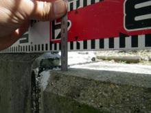 欠陥住宅を調査する建築士のブログ-擁壁沈下