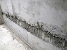 欠陥住宅を調査する建築士のブログ-コンクリート充填不足