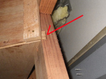 欠陥住宅を調査する建築士のブログ-筋交い切り欠き