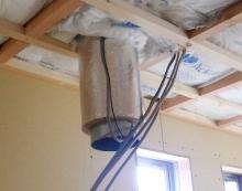 欠陥住宅を調査する建築士のブログ-防火アルミダクト