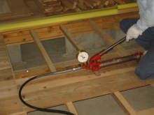 欠陥住宅を調査する建築士のブログ-ケミカルアンカー試験