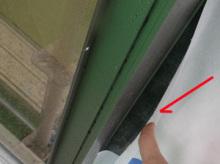 欠陥住宅を調査する建築士のブログ-防水テープ不備