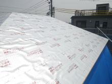 欠陥住宅を調査する建築士のブログ-遮熱シート