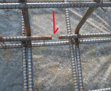欠陥住宅を調査する建築士のブログ-鉄筋切断
