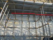 欠陥住宅を調査する建築士のブログ-鉄筋分断