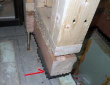 欠陥住宅を調査する建築士のブログ-基礎のズレ