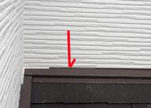 欠陥住宅を調査する建築士のブログ-サイディング不備