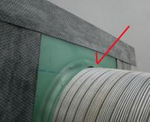 欠陥住宅を調査する建築士のブログ-防水テープ