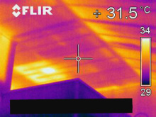 欠陥住宅を調査する建築士のブログ-断熱材隙間